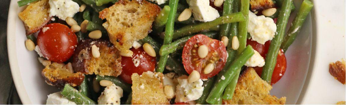 Une salade anti-gaspi