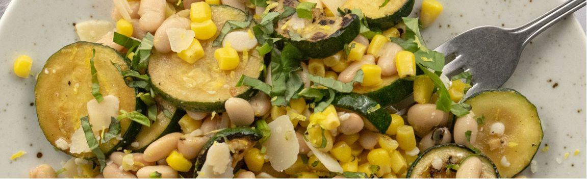 Salade originale au maïs